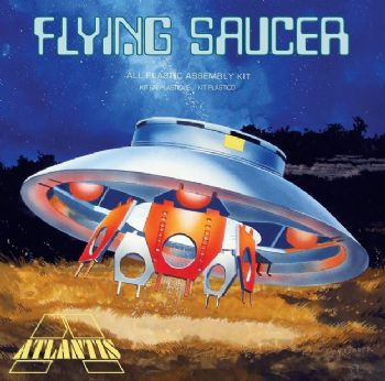 Invaders Flying Saucer With Clear Top from Atlantis